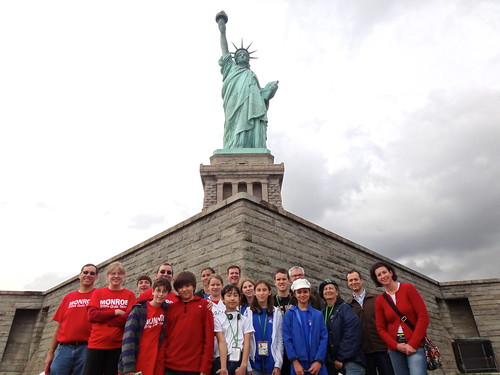 Quiz Team & Statue of Liberty