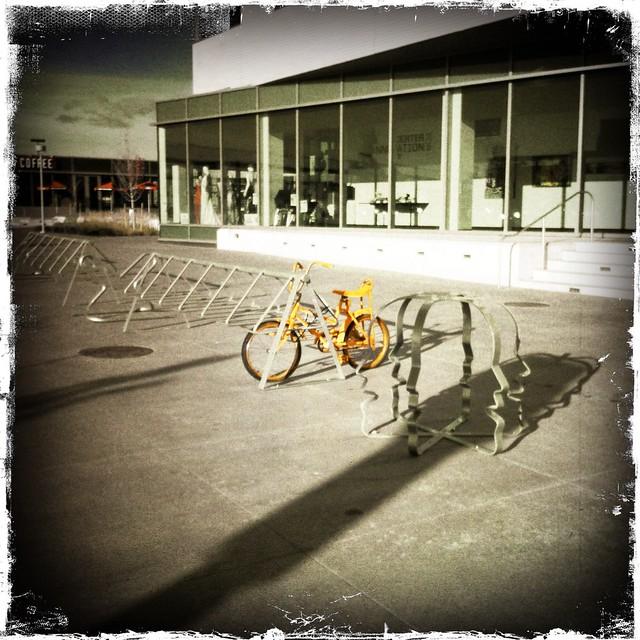 Bright Orange On Campus