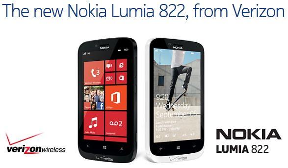Nokia Lumia 822 дата выхода
