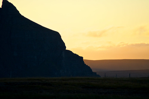 camping sunset cliff iceland nikon nikkor campground 70300mm 2012 grettislaug northerniceland d5000 nikond5000