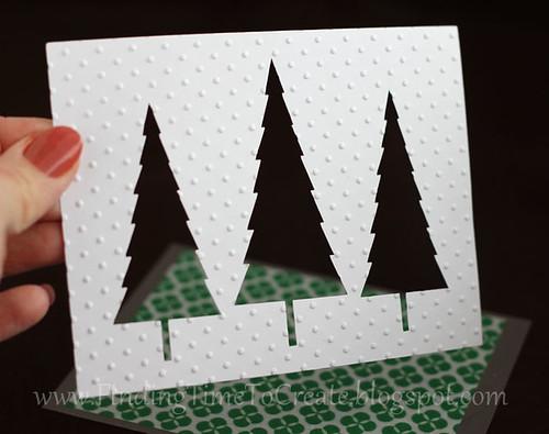 embossed-trees