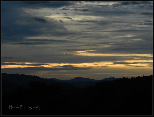 sunset mist scenery mizoram lunglei sunsetinacloud beautifulserene hruaizphotography cloudycoveredarea