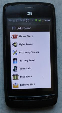 SMS Display on LCD