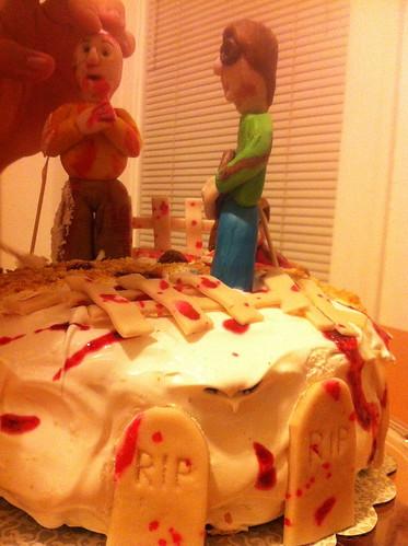 Assembly, zombie cake