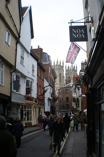 Low Petergate, York City Centre