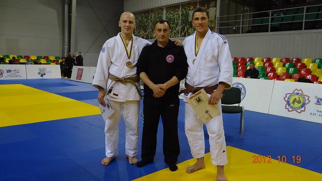 Iš kairės Robertas Zimkus, Antanas Kasteckas, Artūras Lubys.
