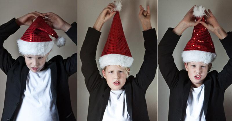 Kinderfoto Weihnachten