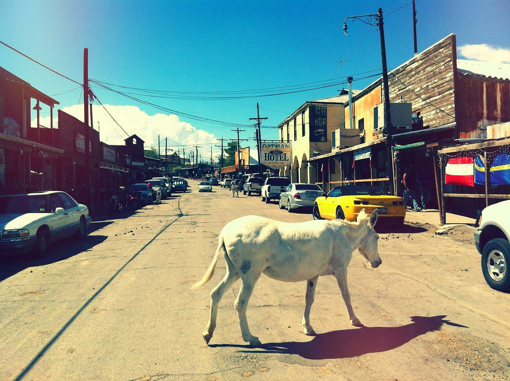 Historic Route 66 - Oatman, Arizona
