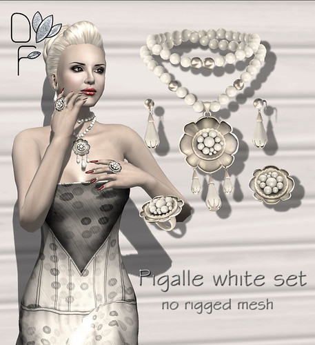 PIGALLE white set