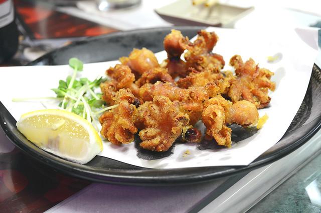 Delicious Ika Tempura