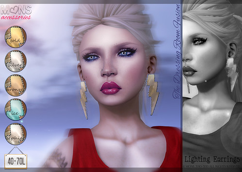 MONS / Lighting Earrings (fatpack) TDRFusion by Ekilem Melodie - MONS