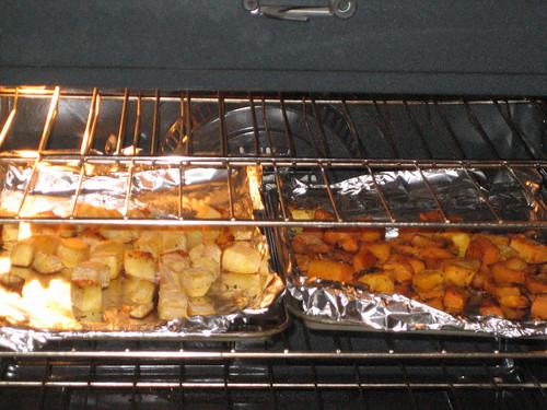 IMG_6535 Roasting Veggies in Oven