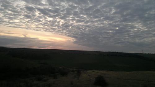 sunset sky bulgaria ruse ivanovo