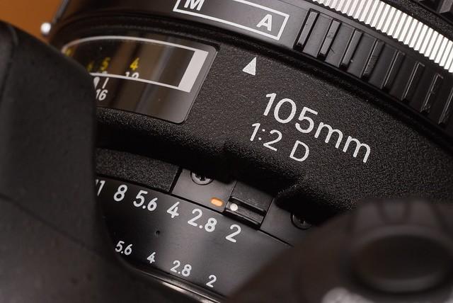 Nikon AF-DC 105mm f2D