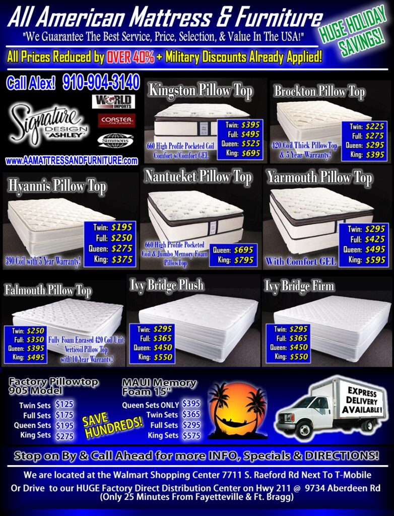 Mattress Menu HTML WEB new