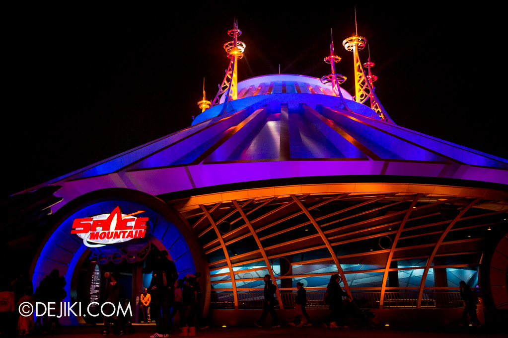 Space Mountain - dramatic
