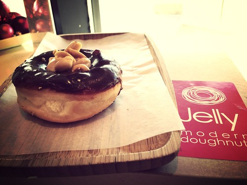 Jelly modern donuts - peanut butter cup