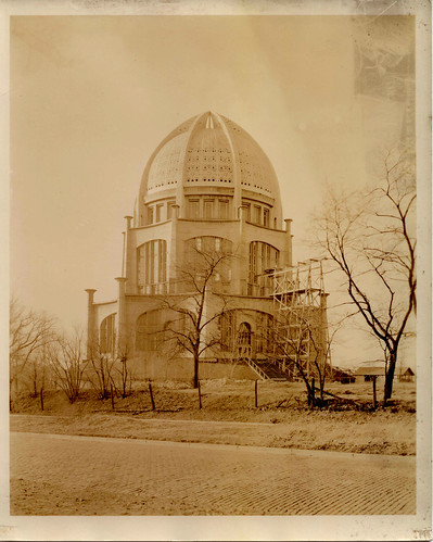 Baha'i House of Worship, March 6, 1934