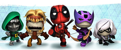Marvel Heroes Costume Pack 6