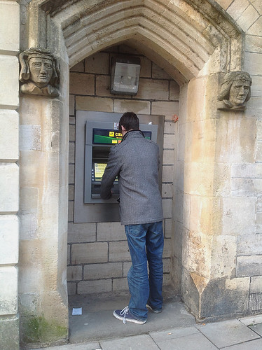 ATM in Bradford on Avon England