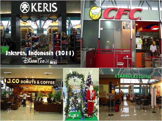 Shops in Jakarta Airport