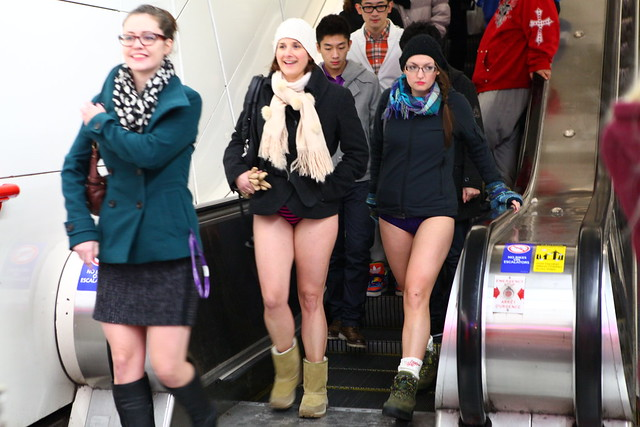 No Pants Skytrain Ride 2013