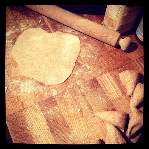 #fmsphotoaday  Day 15 :: An Ordinary Moment :: Making tortillas for supper.