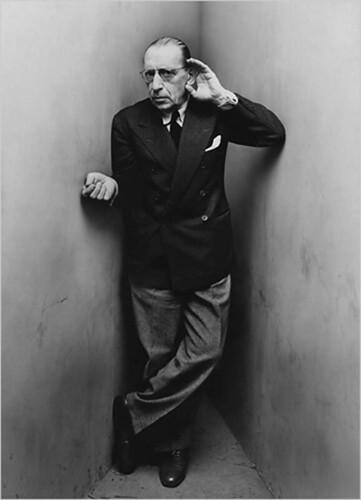 Penn, Irving (1917-2009) - 1948 Igor Stravinsky by RasMarley