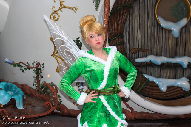 Meeting Tinker Bell and Periwinkle
