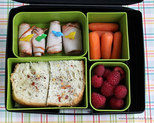 Rosemary bread Laptop Lunches bento