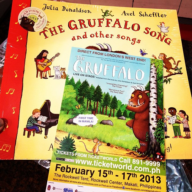 The Gruffalo. Live in Manila. Must see!