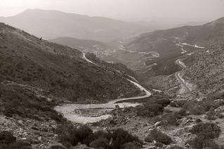 Calzada romana en el puerto del Pico (Sierra de Gredos)