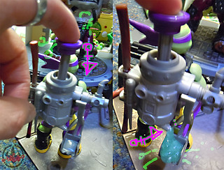 "Nickelodeon ""MUTAGEN OOZE"" TEENAGE MUTANT NINJA TURTLES :: OOZE TOSSIN' RAPH & OOZE SCOOPIN' DONNIE x // ..Mutagen Oooze launching action (( 2013 ))"