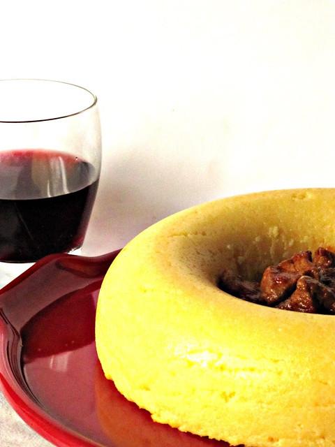 L 39 omin di panpepato anello di polenta con lonza al ragout for Aggiunta suocera