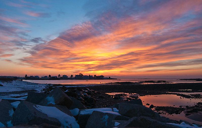 Sunrise, Kennebunk Beach, ME. WR2  022 f6.3, ISO 320, 0, 18mm