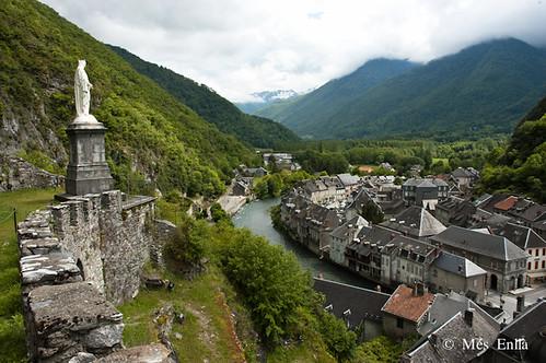 Pueblo con encanto de los Pirineos de Francia