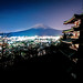 Mount Fuji star trails by matsunuma