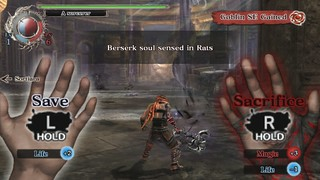 Soul Sacrifice on PS Vita