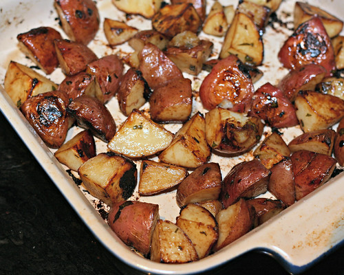 Soy Roasted Potatoes