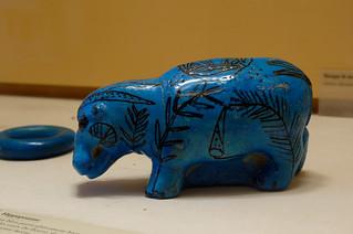 Faience Hippo