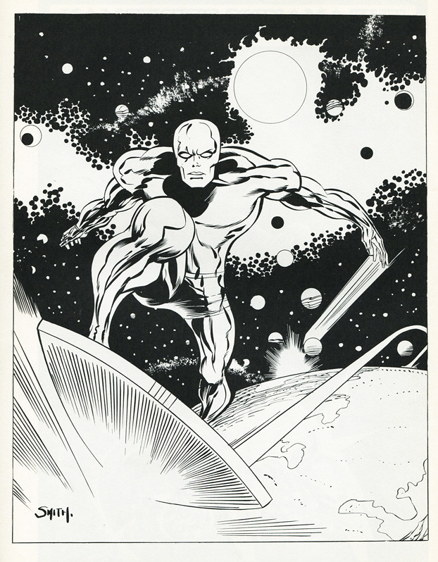 Silver Surfer by Barry Smith