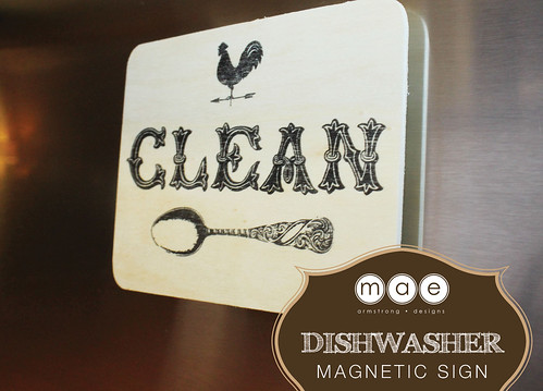 Dishwasher - Magnetic Sign2