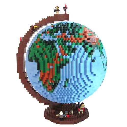 dirks LEGO globe � 01