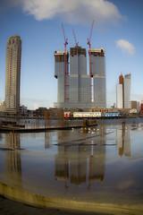 Rotterdam with a dash of fisheye! **Explored