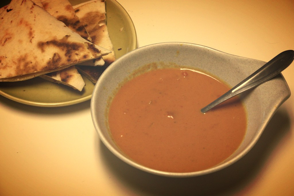 Tomato Coconut Curry Soup: Rooted Vegan