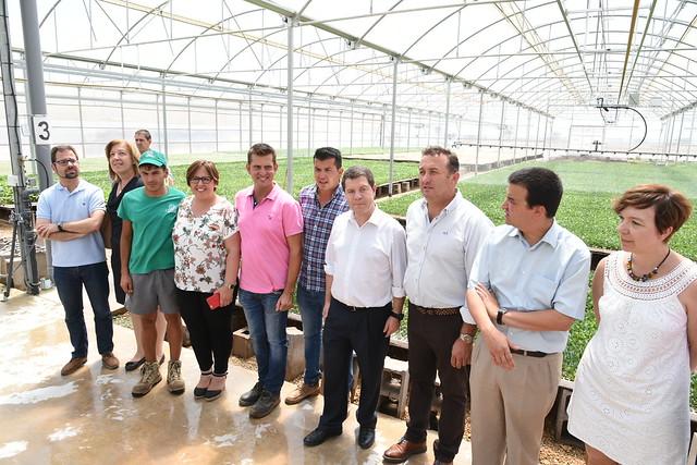 "Visita a la explotación agraria ""SAT Campos"""