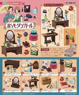 Re-ment 「漂亮的摩登女郎」篇 懷舊復古物件又續推!ぷちサンプル 麗しきモダンガール