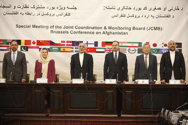 Afghan Government and partners review preparations one month out from key Brussels Conference