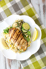 Spicy Chicken and Couscous Salad