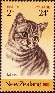 Tabby Cat Stamp